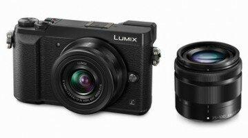 Panasonic Lumix DMC-GX80 DZ-Kit inkl. G Vario 3,5-5,6 / 12-32 mm schwarz & 4,0-5,6 / 35-100 mm ASPH. OIS sw