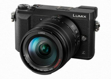 Panasonic Lumix DMC-GX80 Kit inkl. Lumix G Vario 3,5-5,6 / 14-140 mm Power OIS schwarz