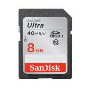 SanDisk SDHC-Karte 8GB Ultra UHS-1 Class10