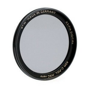 B+W Circular Polfilter Käsemann HTC MRC nano XS-Pro 72mm High Transmission(1081477)