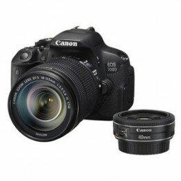 Canon EOS 700D Kit EF-S 3,5-5,6/ 18-135mm IS STM & EF 2,8/40mm STM