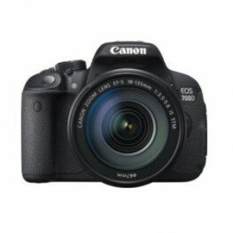 Canon EOS 700D Kit inkl. EF-S 3,5-5,6 / 18-135 mm IS STM