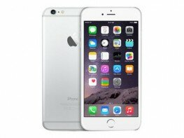 Apple iPhone 6 plus 16 GB silber MGA92ZD/A