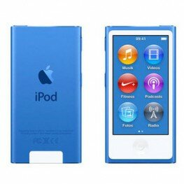 Apple iPod nano 8G 16GB blau, MKN02QG/A