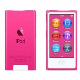 Apple iPod nano 8G 16GB pink, MKMV2QG/A