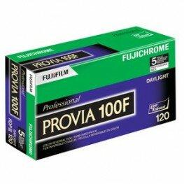 Fuji Provia 100 F 120 5er Pack Diafilm