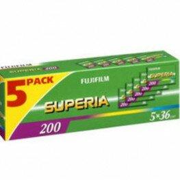 Fuji KB CN Superia 200 135/36 5er Pack
