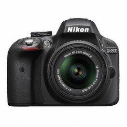 Nikon D3300+AF-P DX 3,5-5,6/18-55mm G VR schwarz Kit