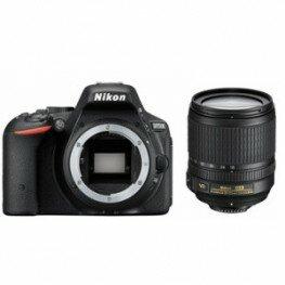 Nikon D5500 Kit inkl. AF-S DX 3,5-5,6 / 18-105 mm G ED VR schwarz