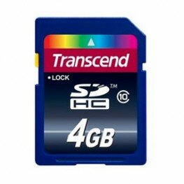 Transcend SDHC-Karte 4GB Class10