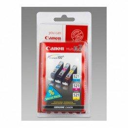 Canon CLI-521 Vorteilspack (cyan/magenta/gelb)