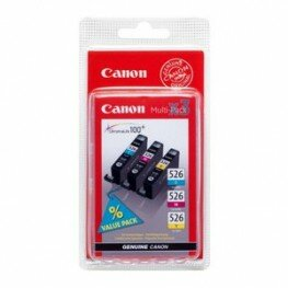 Canon CLI-526 Multipack (C/M/Y)