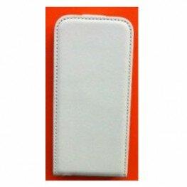 Flipcase Slim Line für Samsung Galaxy S3 mini white