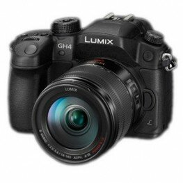 Panasonic Lumix DMC-GH4 Kit inkl. Lumix G Vario 3,5-5,6/14-140 mm OIS