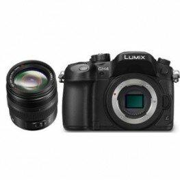 Panasonic Lumix DMC-GH4 Kit inkl. Lumix G X Vario 2,8 / 12-35 mm ASPH Power OIS