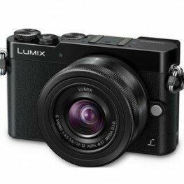 Panasonic Lumix DMC-GM5 Kit inkl. Lumix G Vario 3,5-5,6 / 12-32 mm Asph./O.I.S. schwarz