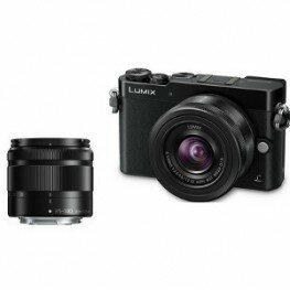 Panasonic Lumix DMC-GM5 DZ Kit inkl. Lumix G Vario 3,5-5,6 / 12-32 mm Asph./O.I.S. & G 4,0-5,6 / 35-100 ASPH