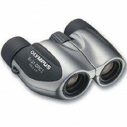 Olympus Kompakt 8x21 DPC-I silber inkl. Tasche