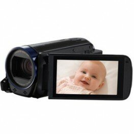 Canon LEGRIA HF-R606 Full-HD Camcorder schwarz